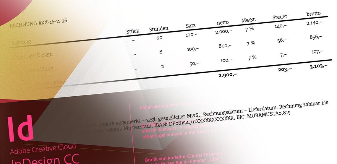indesign rechnung ganz einfach per script erstellen s2. Black Bedroom Furniture Sets. Home Design Ideas